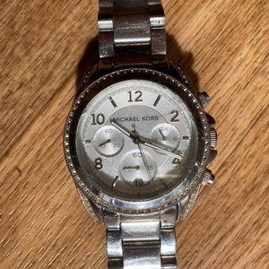 MICHAEL KORS Women's Blair Chronograph Watch